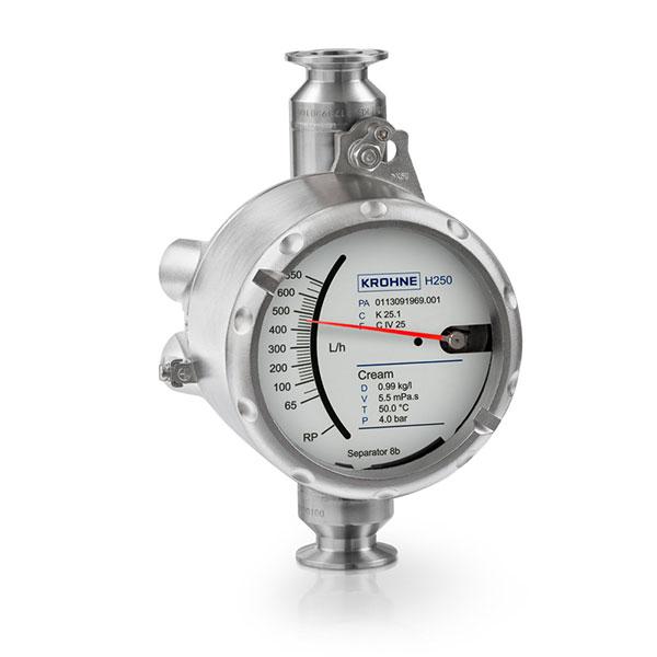 Variable Area Flowmeters – H250 Food   Pharmaceutical